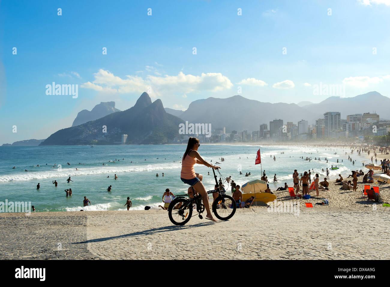 Brazil - Rio de Janeiro - Beach Stock Photo