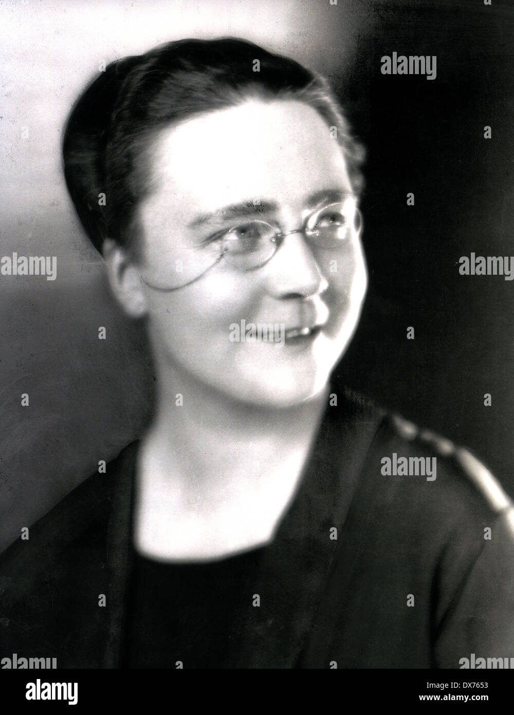 DOROTHY L. SAYERS (1893-1957) English crime writer and poet about  1930 Stock Photo