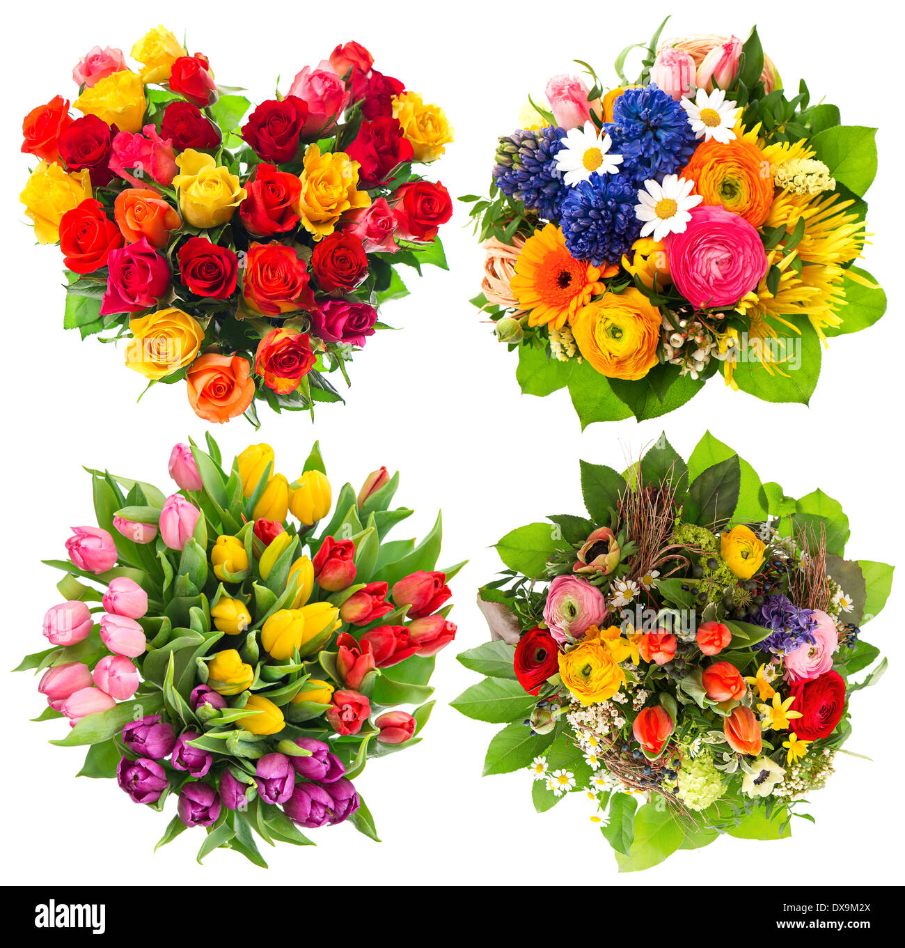 flower bouquets for Birthday, Valentines Day, Mothers Day, Easter ...