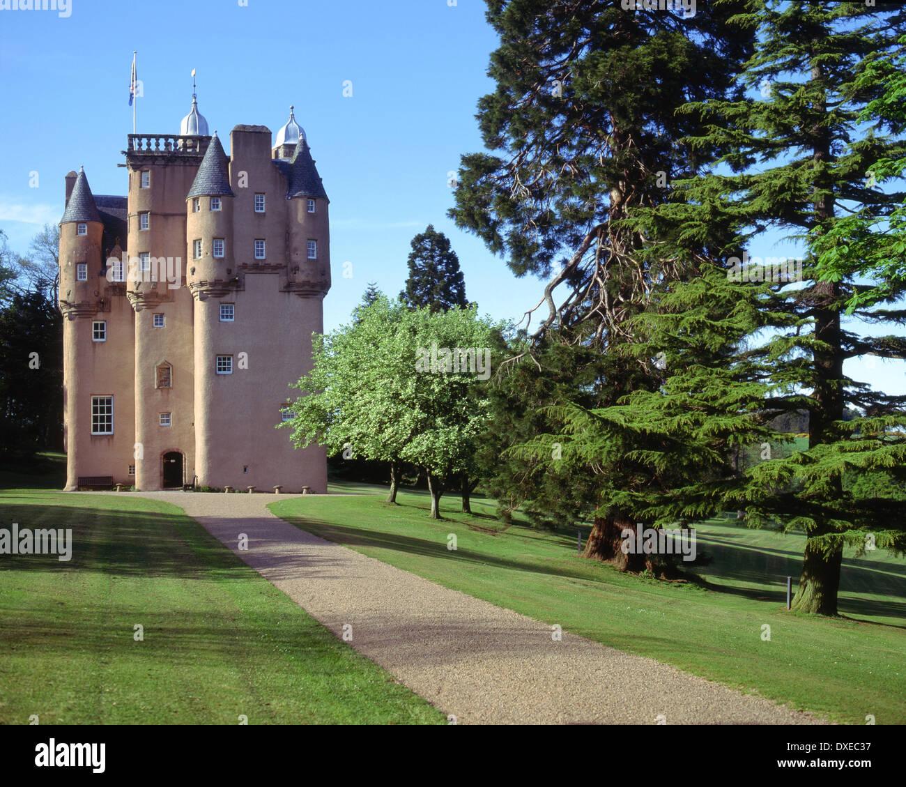 Craigivar Castle, An L Plan Tower House (1626) Nr Alford, Aberdeenshire