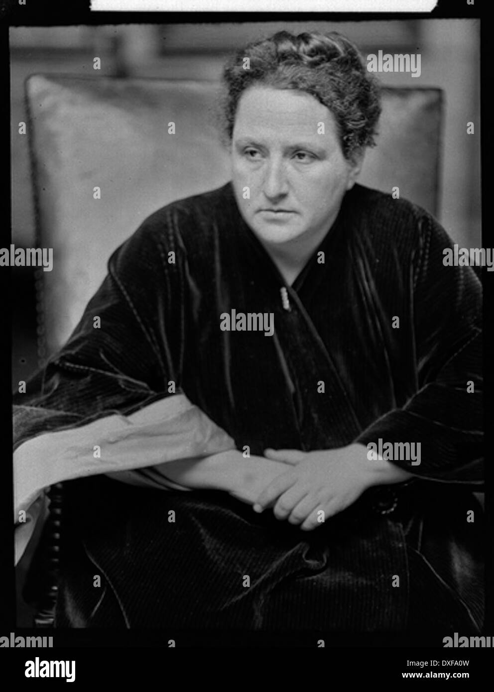 Gertrude Stein Stock Photo