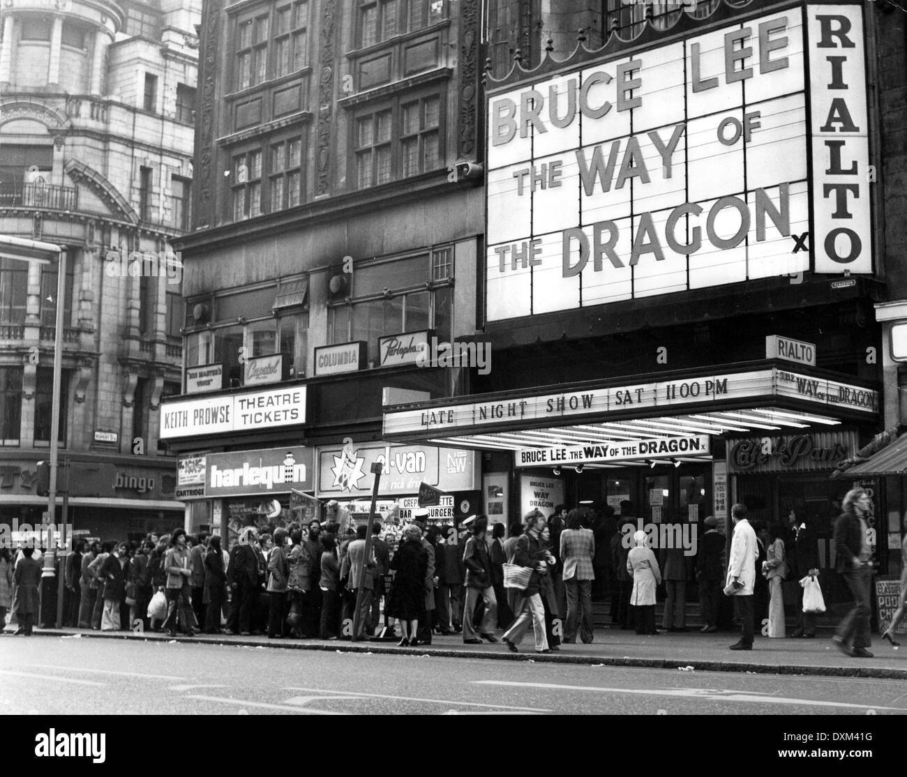 RIALTO CINEMA, COVENTRY STREET, LONDON - Stock Image