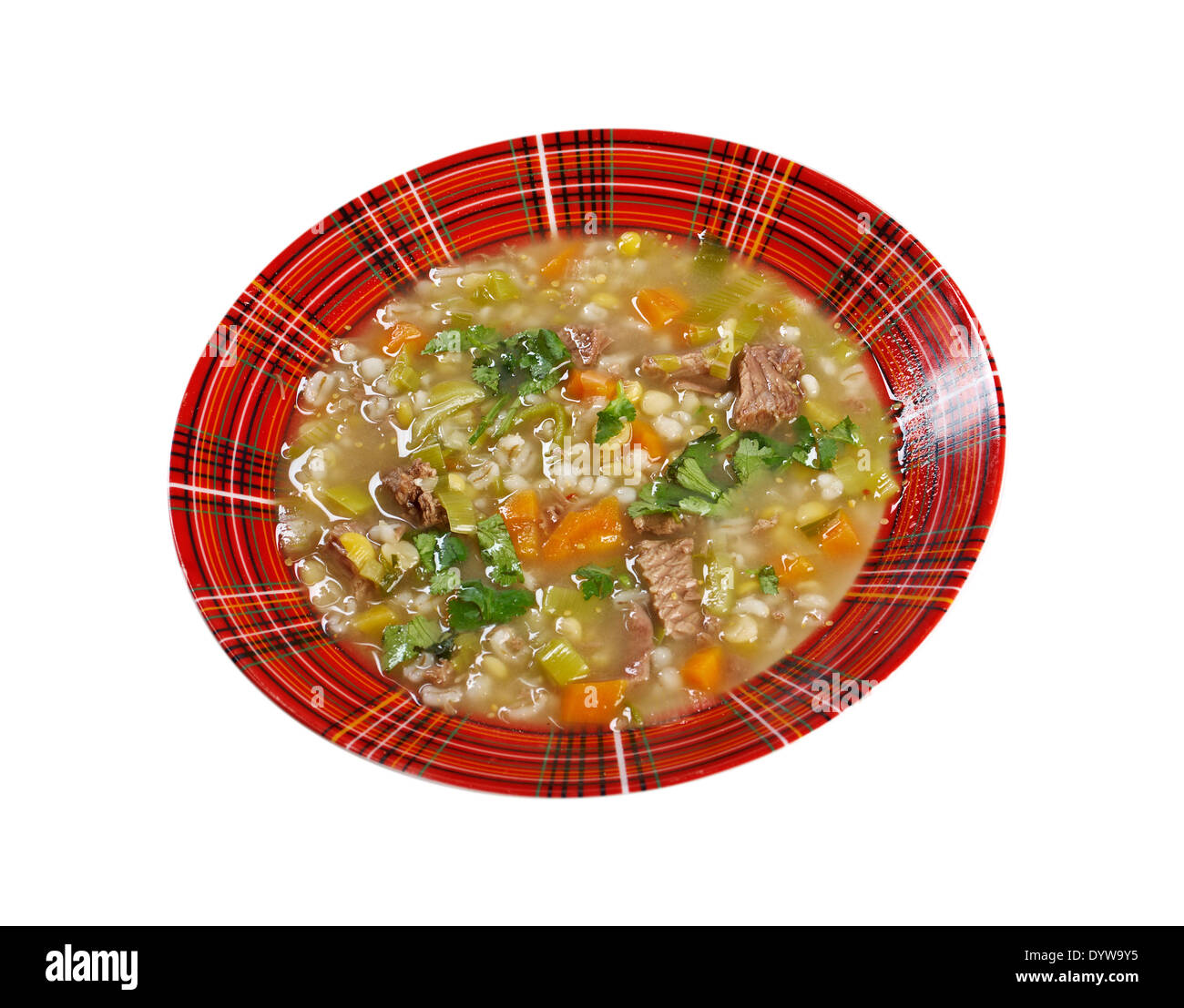 Scotch Broth Soupfarmhouse Kitchenold Fashioned Thrifty Soup Made From Meat On The Bon