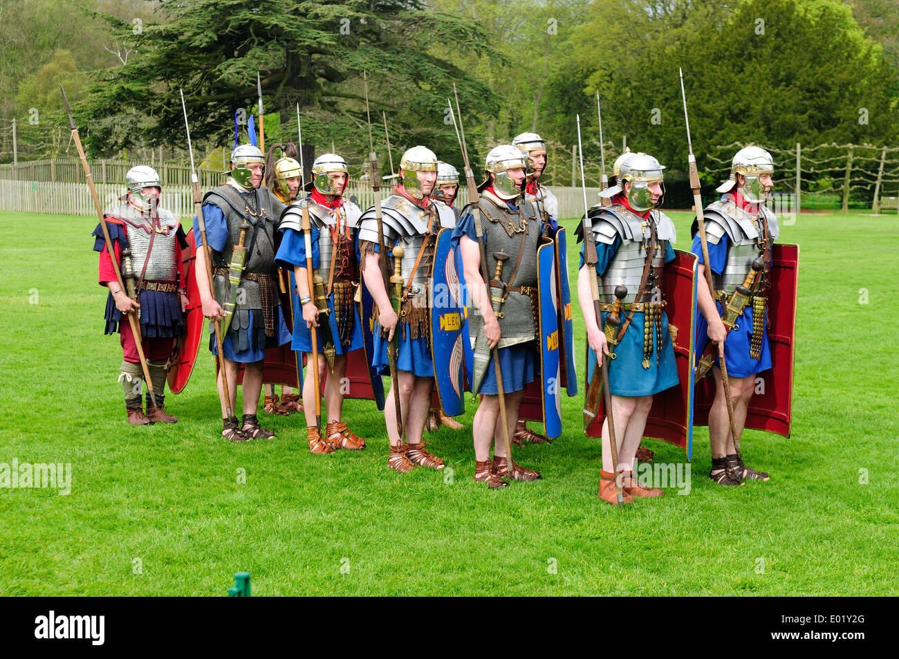 Rufford Abbey Historical Event .Nottinghamshire,UK. - Stock Image