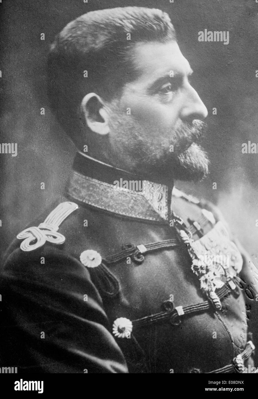 King Ferdinand of Romania - Stock Image