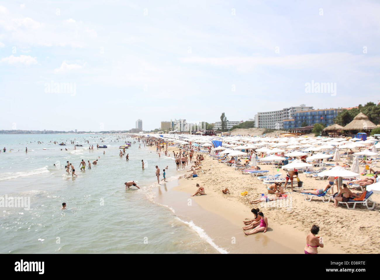 Sunny Beach, Bulgaria. Stock Photo