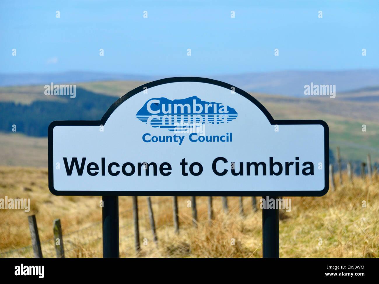welcome-to-cumbria-boundary-sign-killhope-cross-killhope-head-cumbria-E090WM.jpg