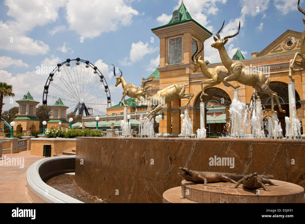 Gold Reef City Casino and Hotel in Johannesburg, Gauteng, South Africa, Africa - Stock Image