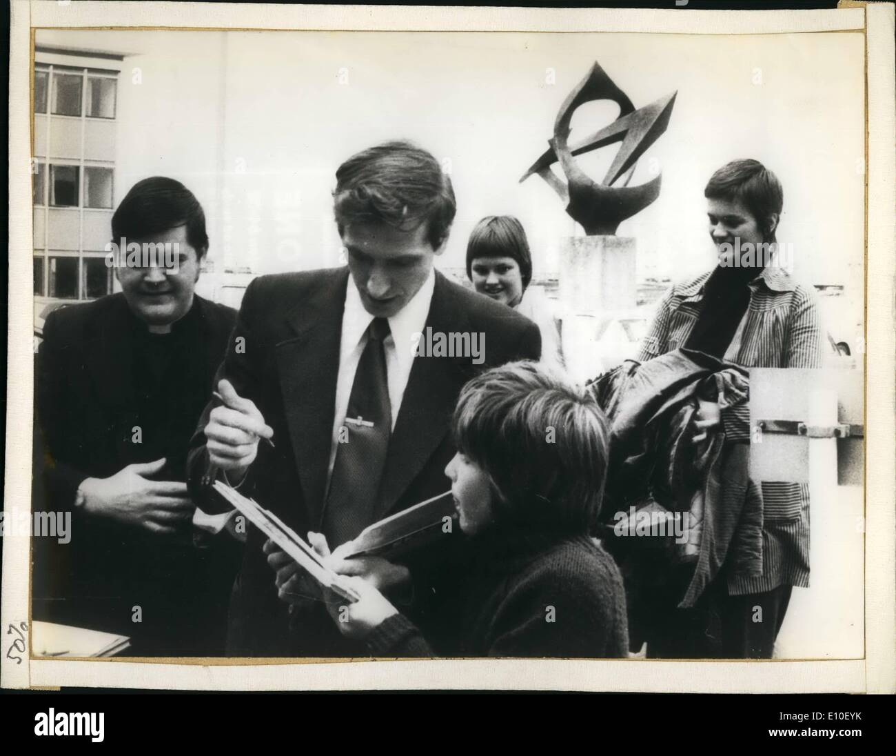 Sep. 09, 1972 - American Bobby Fischer won the title by beating Boris Spassky, who formerly held the title. President Stock Photo