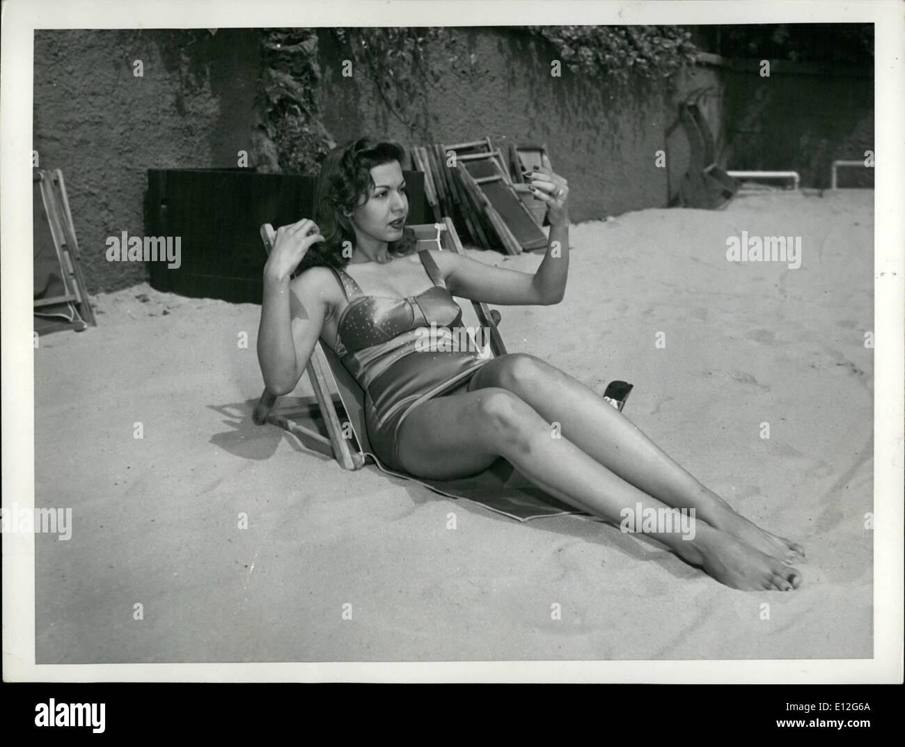 Jan. 09, 2012 - Samia Gamal - Egyptian movie star. - Stock Image