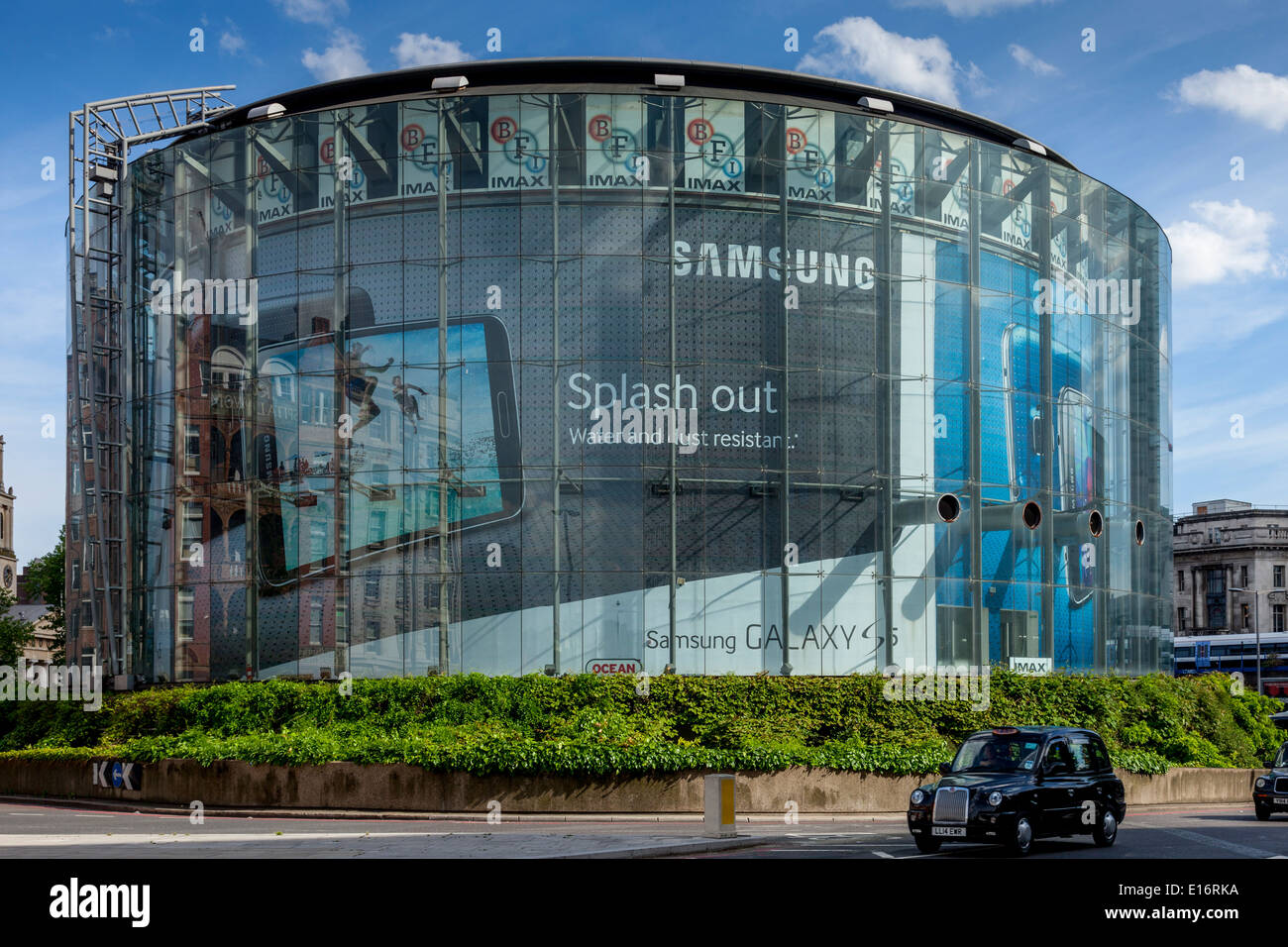The BFI IMAX Cinema, London, England - Stock Image