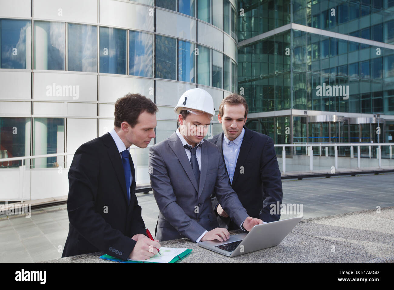 construction work project - Stock Image