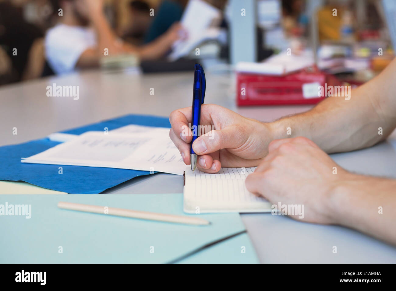 learning languages Stock Photo