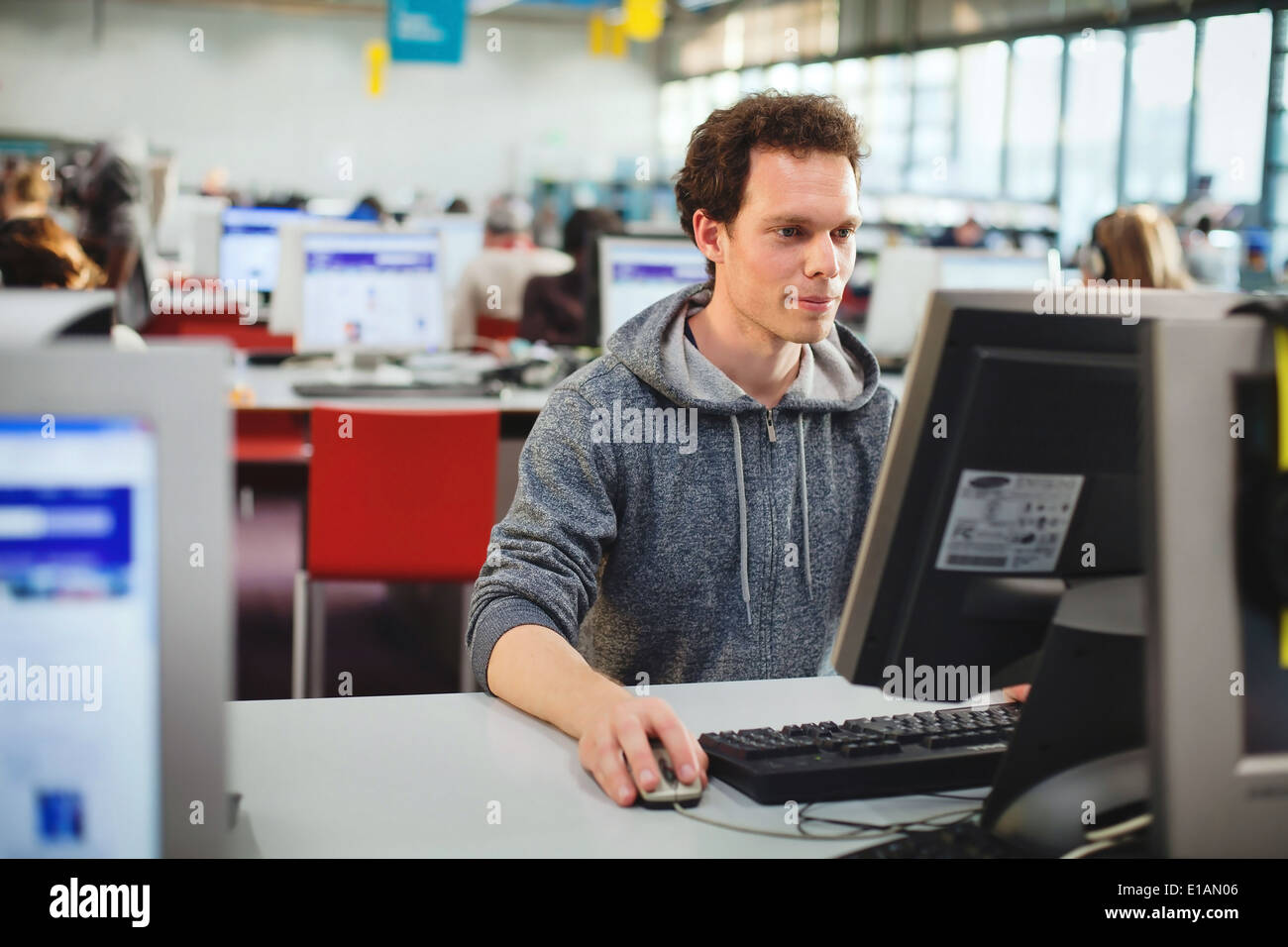 computer education - Stock Image