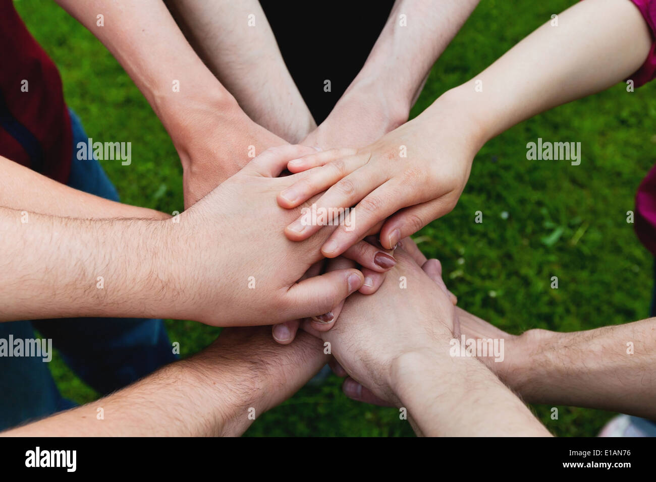 teamwork - Stock Image