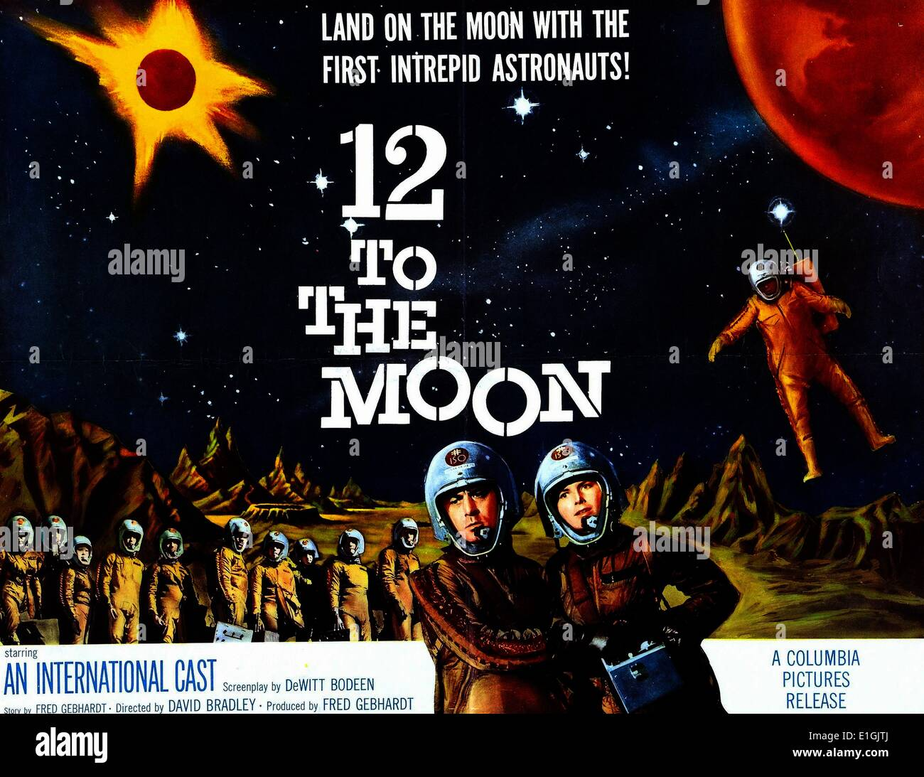 """12 to the Moon"""" a 1960 science..."""