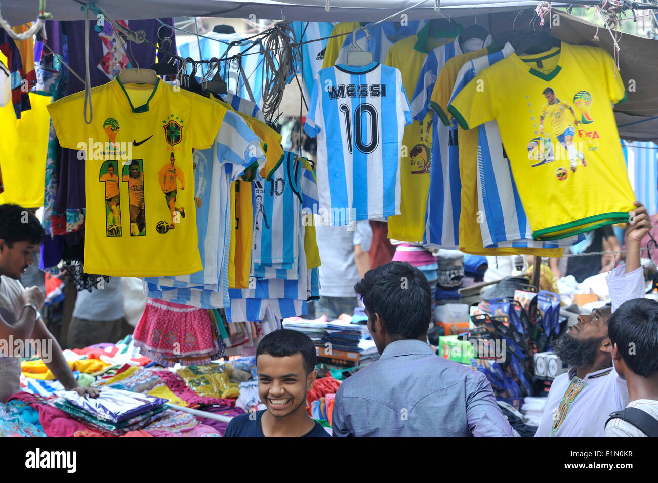 A Jersey football shop. Soccer World Cup 2014 in Brazil has been a hit on  Bangladesh s ready-made dress makers as they bagged about 1 billion U.S.  dollars ... 275b62f3572c
