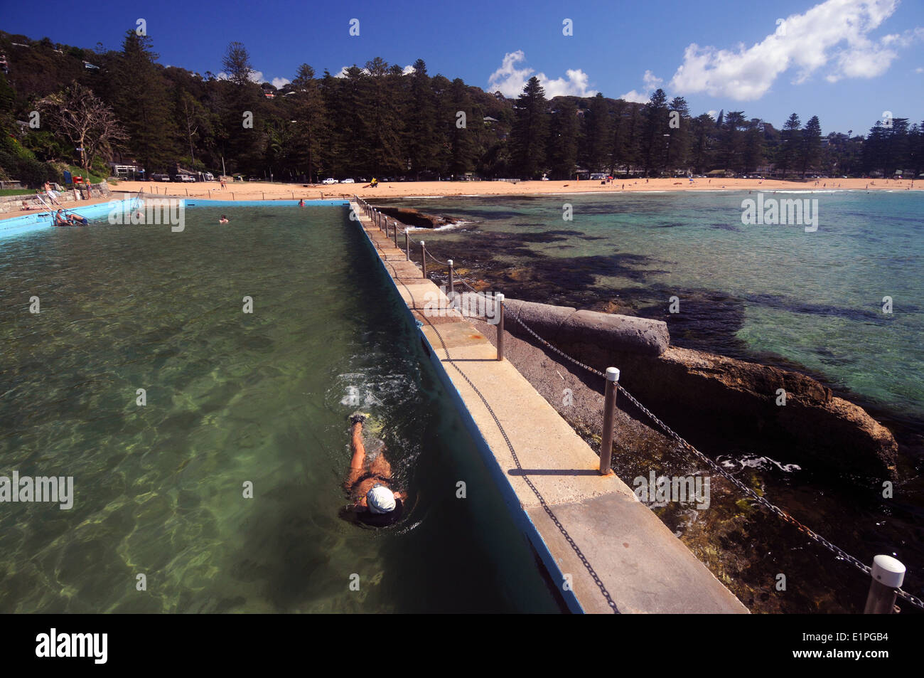 Water pool swim nsw stock photos water pool swim nsw stock images alamy for North sydney pool swimming lessons