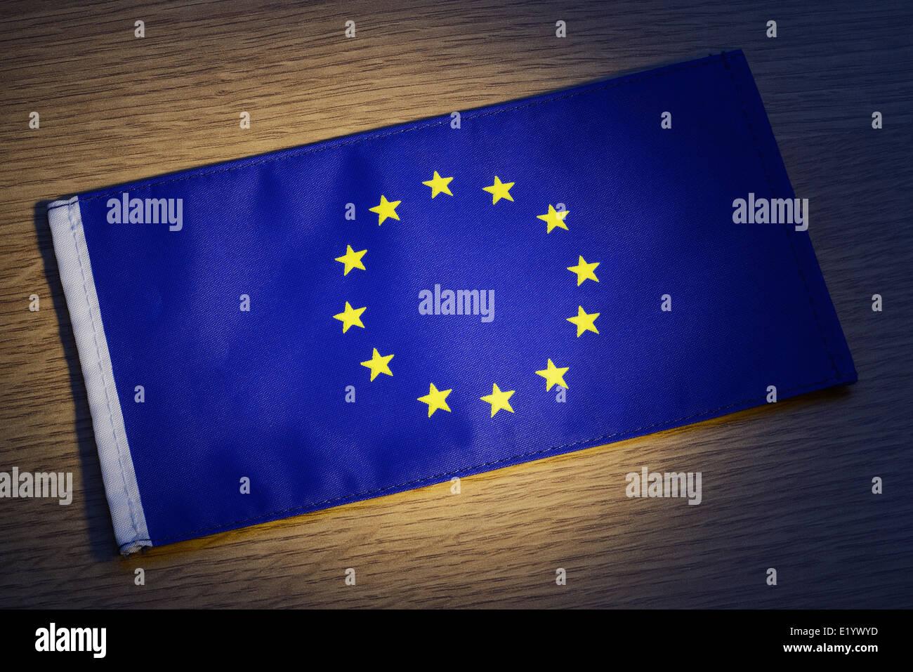 EU flag - Stock Image