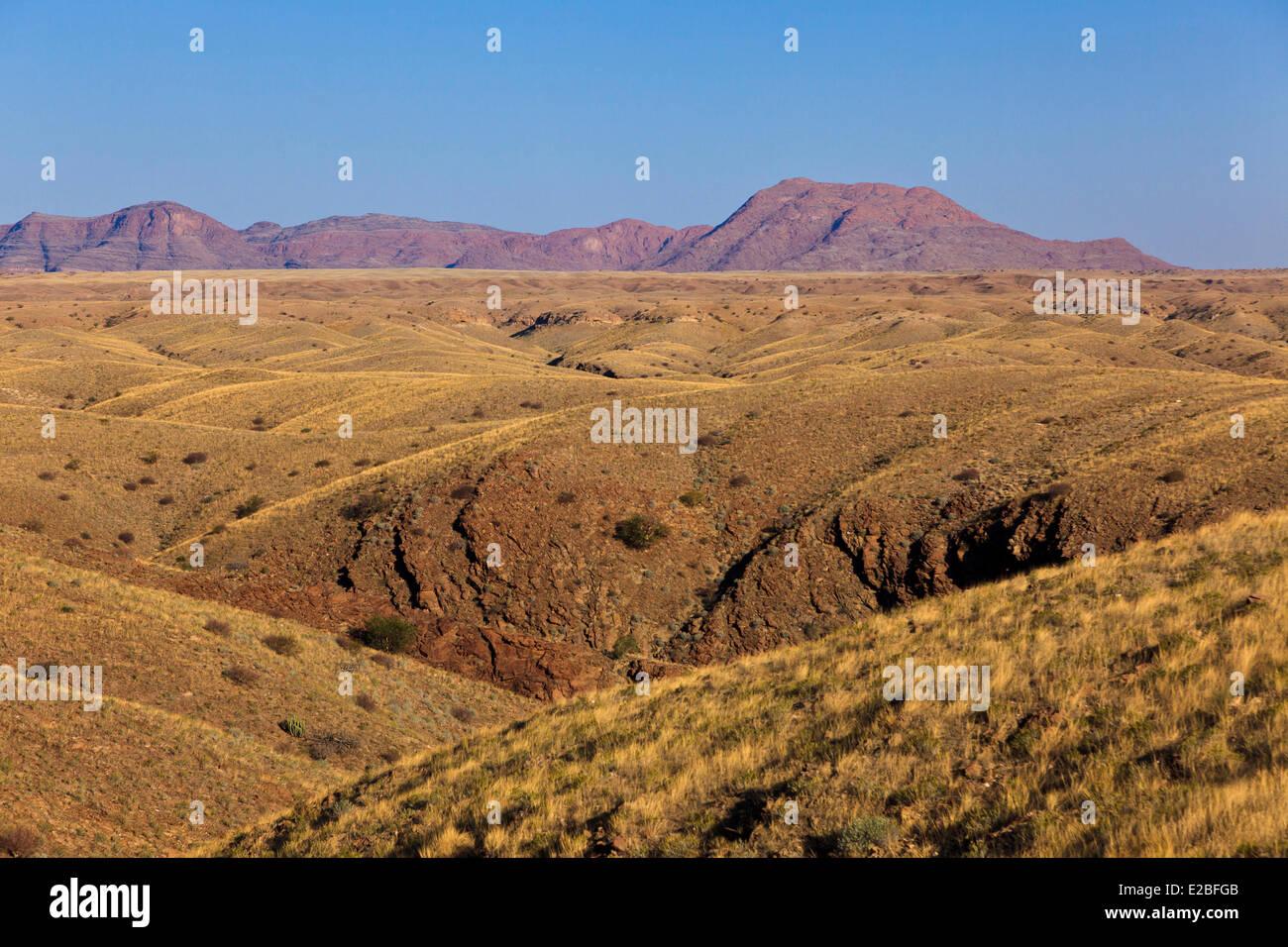 Namibia, Erongo Region, the Kuiseb Valley - Stock Image