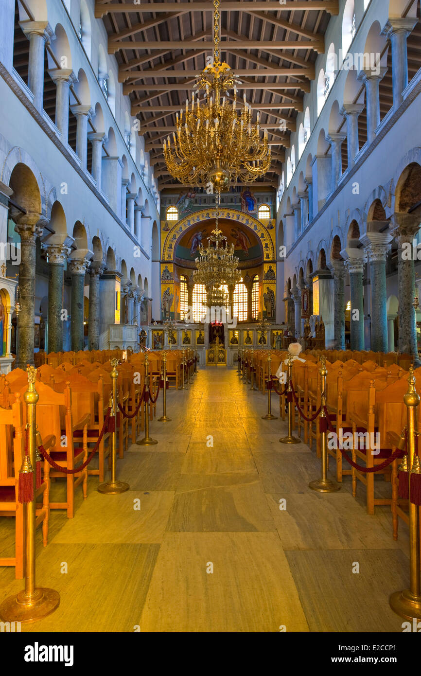 Greece Macedonia Thessaloniki The Early Christian Church Agios