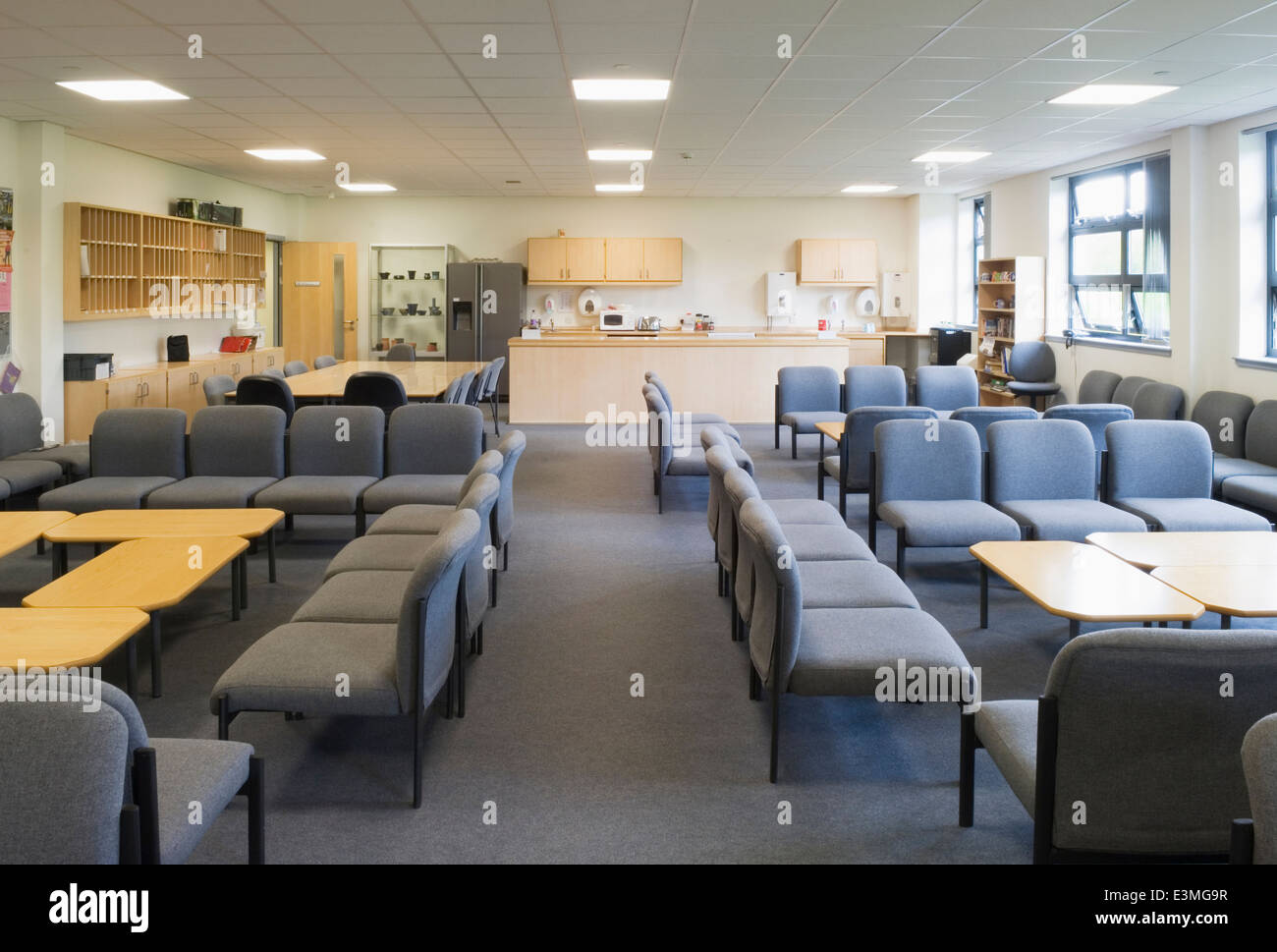 Staff Room Or Teacher S Lounge In A Modern Secondary