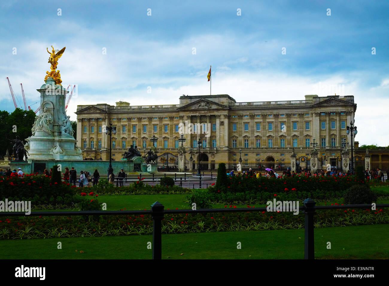 Buckingham Palace - Stock Image