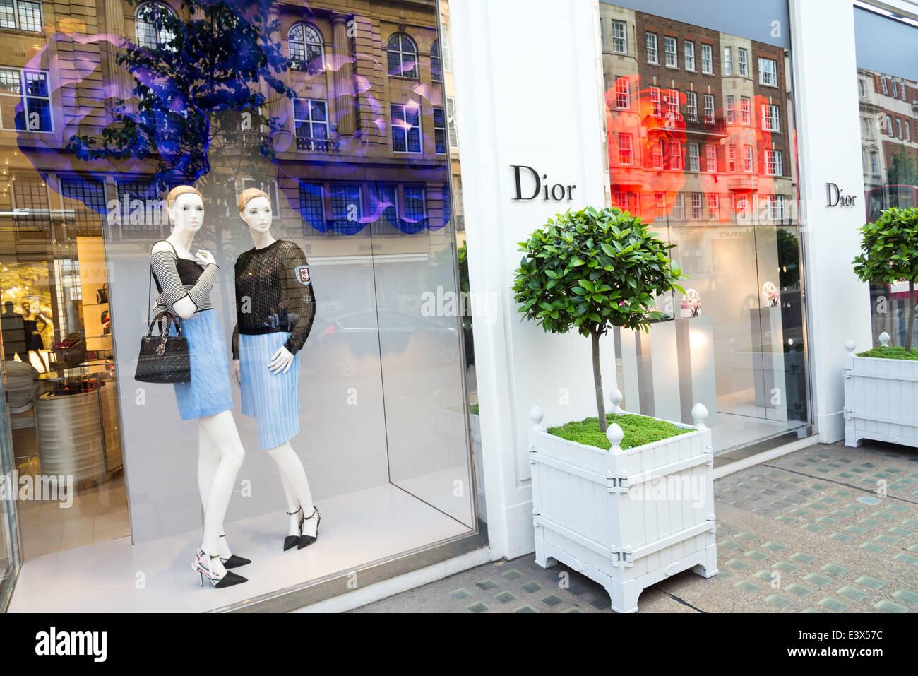 d42640136ef0 Dior luxury designer clothes shop on Sloane Street