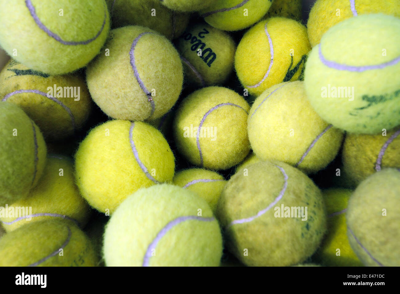 Magdala Tennis Club Open day 1st June 2014 - Stock Image