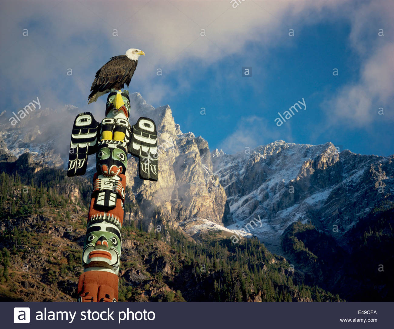 bald-eagle-totem-pole-and-mountains-a-co