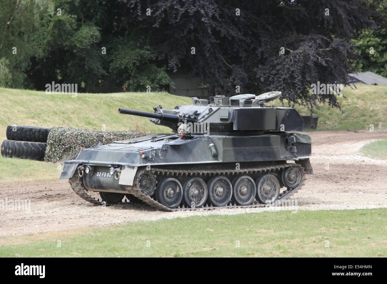 CRV(T) Scorpion - Bovington - Stock Image