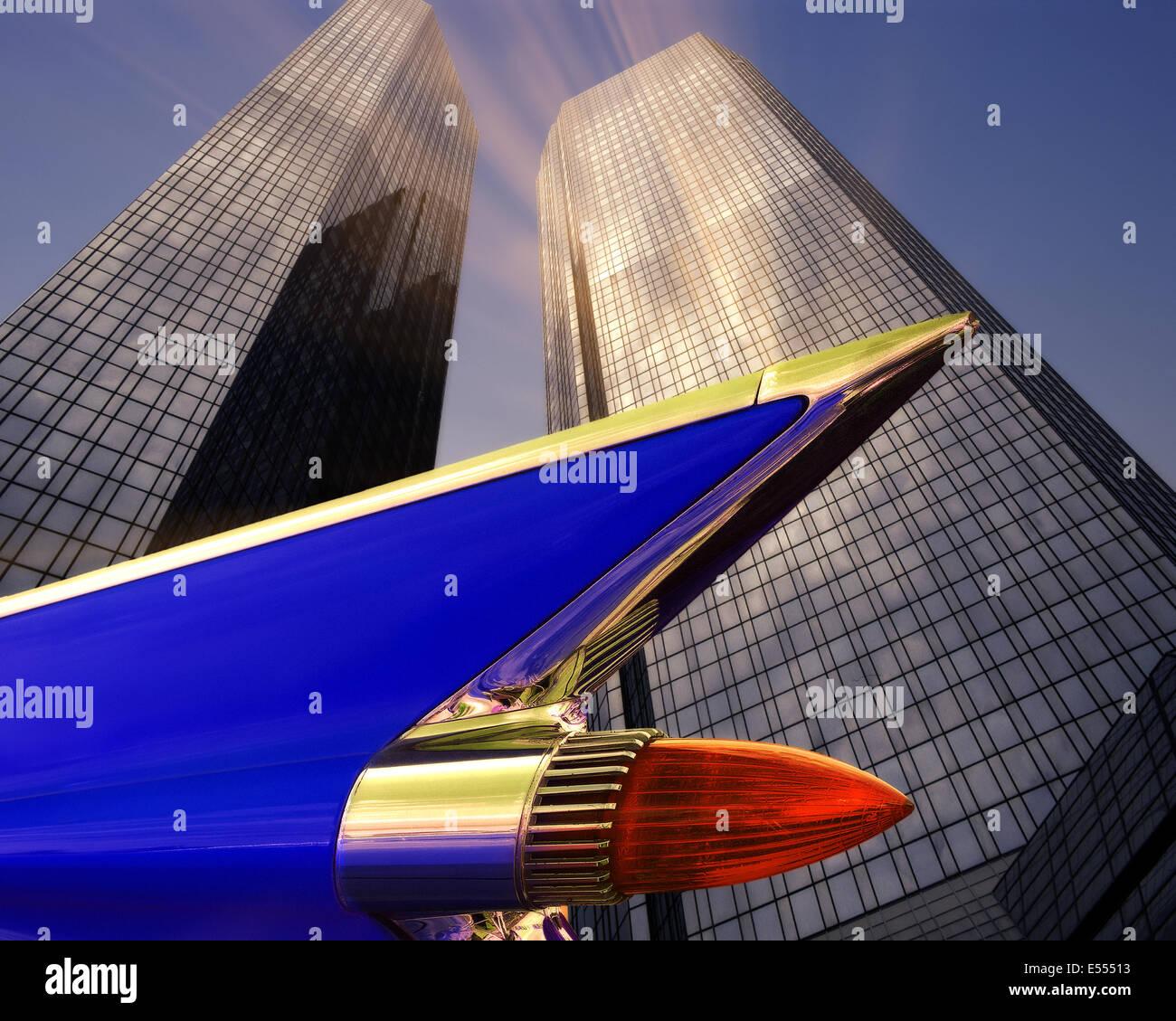 DE - FRANKFURT: Deutsche Bank Headquarters - Stock Image