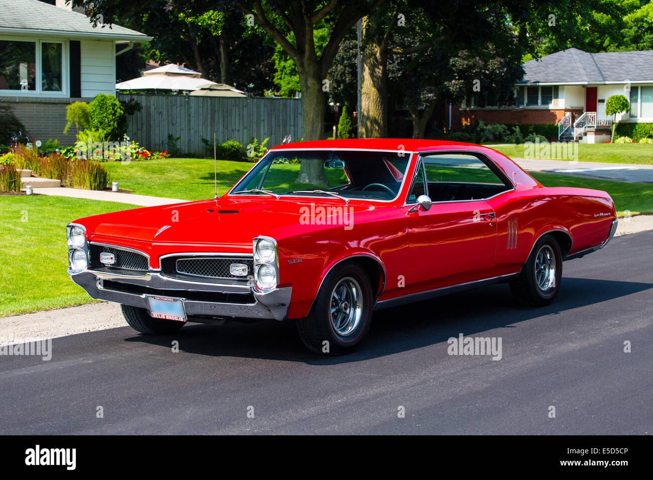 1967 Pontiac Lemans Coupe Stock Photo