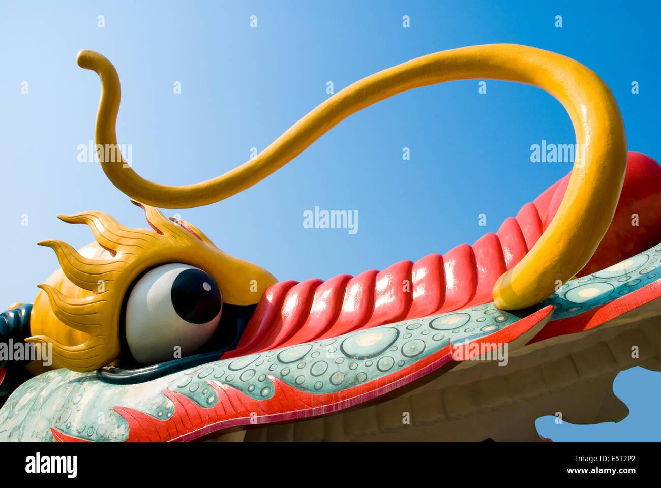 Dragon eye - Stock Image