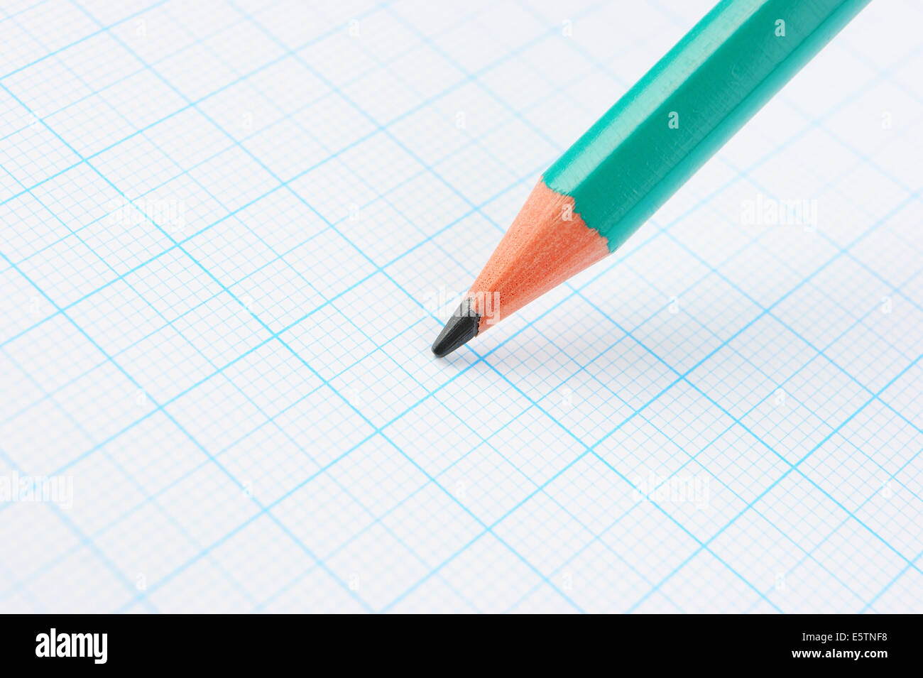 drawing pencil on graph paper stock photo 72458492 alamy