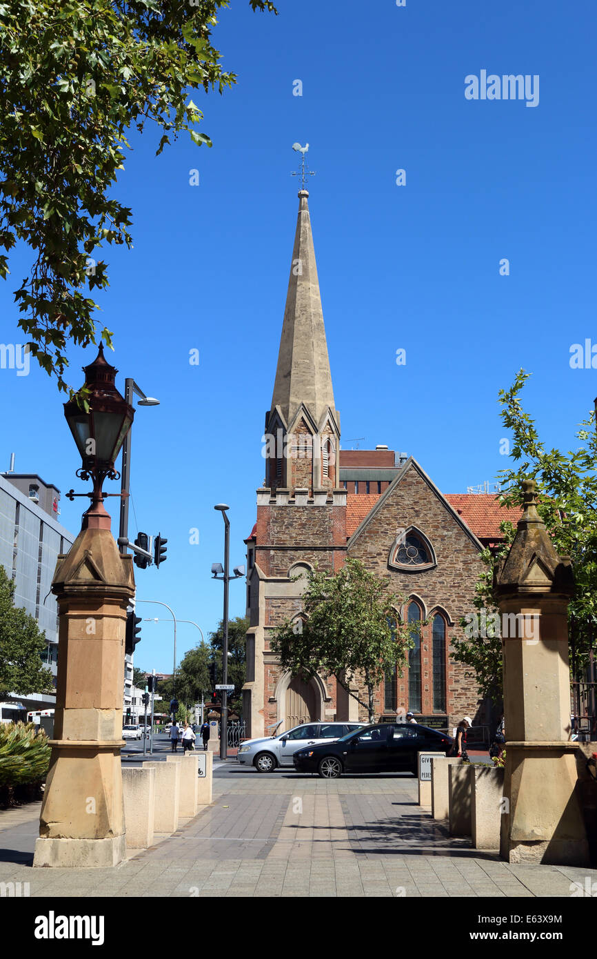Scot's Church, part of the Uniting Church denomination in Adelaide South Australia - Stock Image