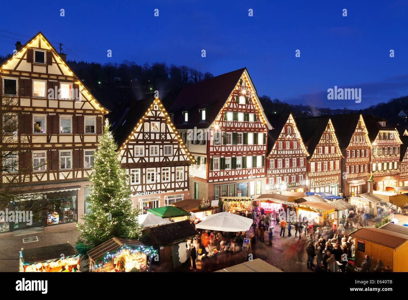 christmas market calw black forest baden w rttemberg. Black Bedroom Furniture Sets. Home Design Ideas