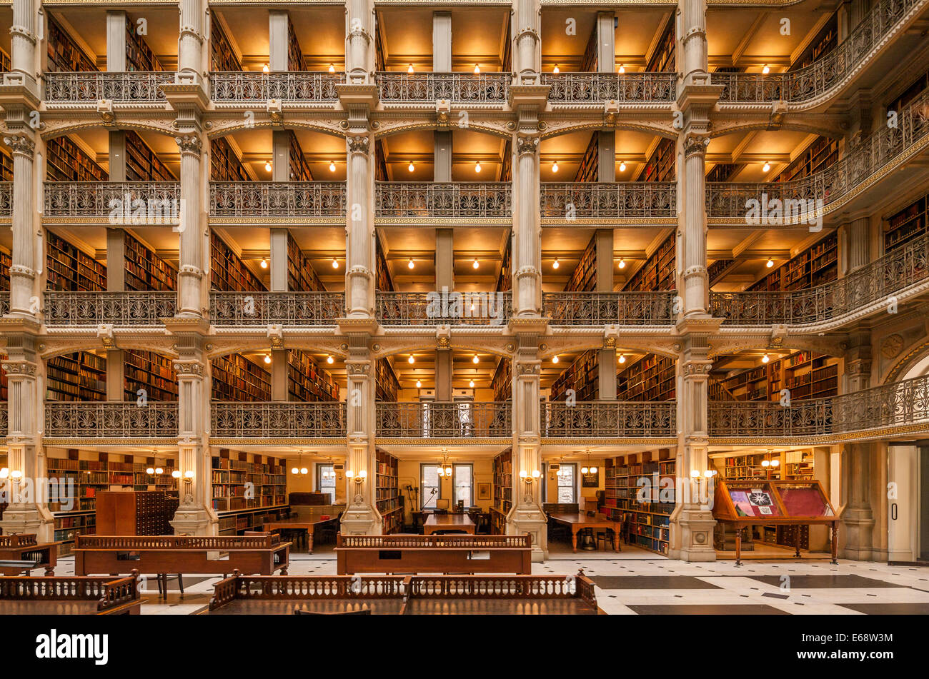 https://c7.alamy.com/comp/E68W3M/baltimore-george-peabody-library-one-of-the-most-beautiful-famous-E68W3M.jpg