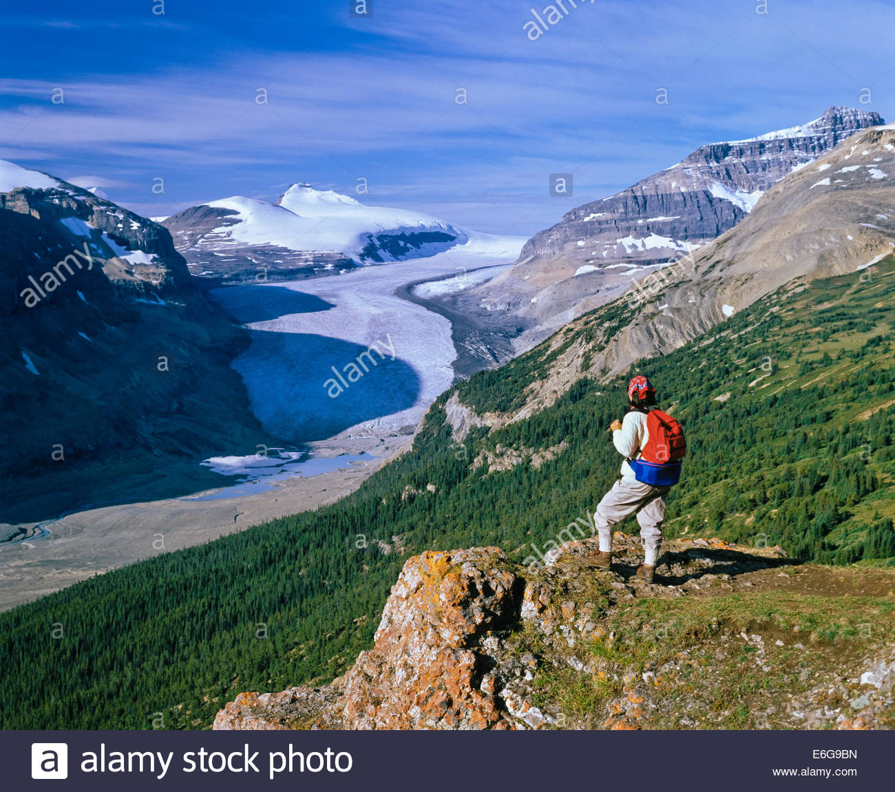 saskatchewan-glacier-from-parker-ridge-i