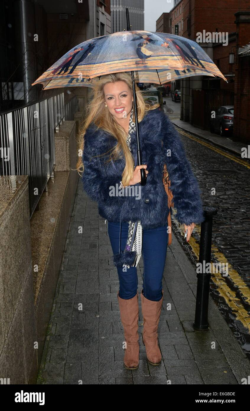 Former miss world rosanna davison irish rugby player donncha stock former miss world rosanna davison irish rugby player donncha ocallaghan at today fm for the ray darcy show featuring rosanna davison where dublin thecheapjerseys Images