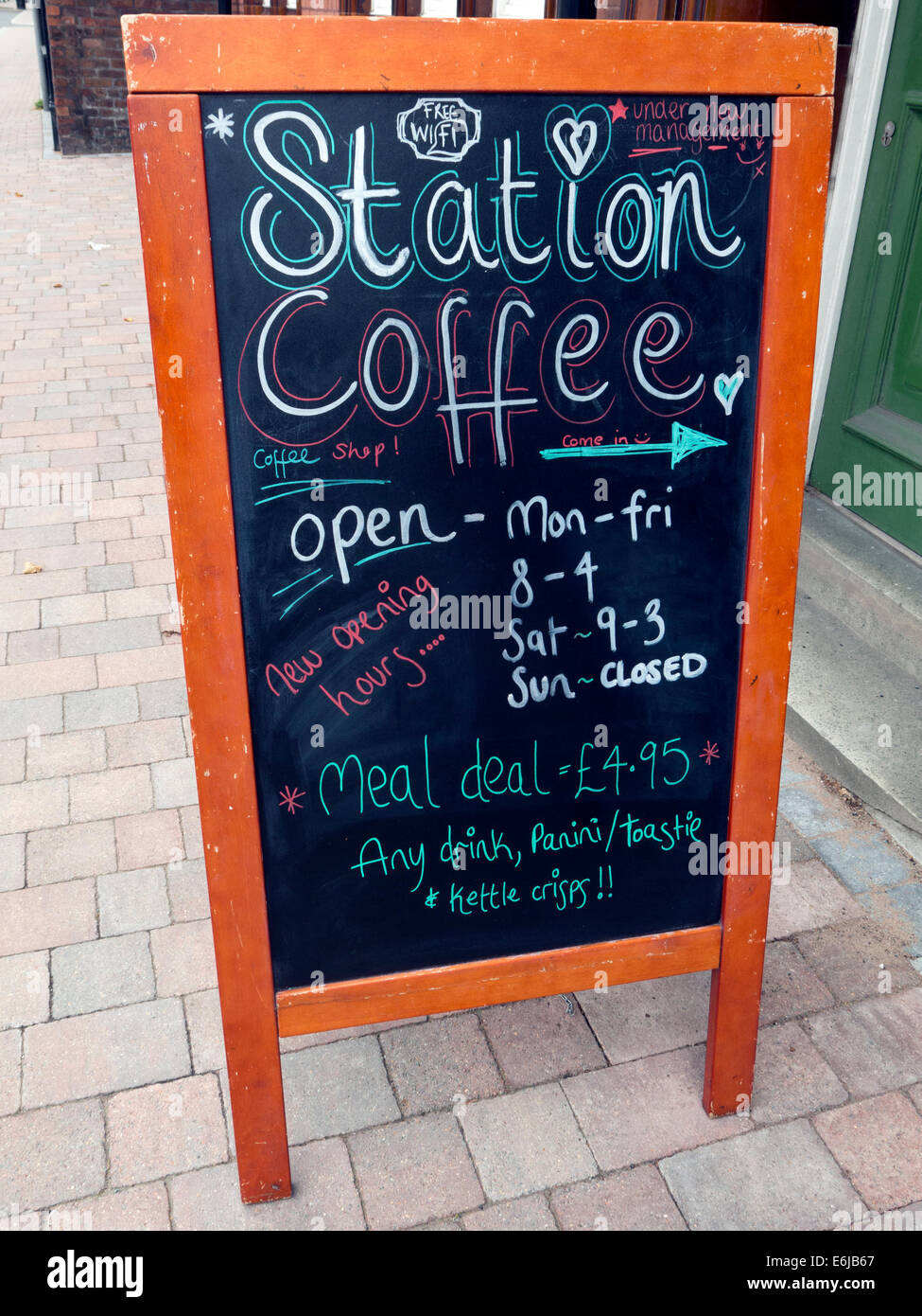 Station,Coffee,independent café,independent,café,resisting,Costa,and,Starbucks,outside blackboard,independent cafe,cafe,tea,english,meal deal,mealdeal,A,A-board,A Board,chalk,chalkboard,chalk board,costa and Starbucks,selling,shop,drink,drinks,cake,cakes,gotonysmith,opening,hours,times,on a blackboard,Buy Pictures of,Buy Images Of