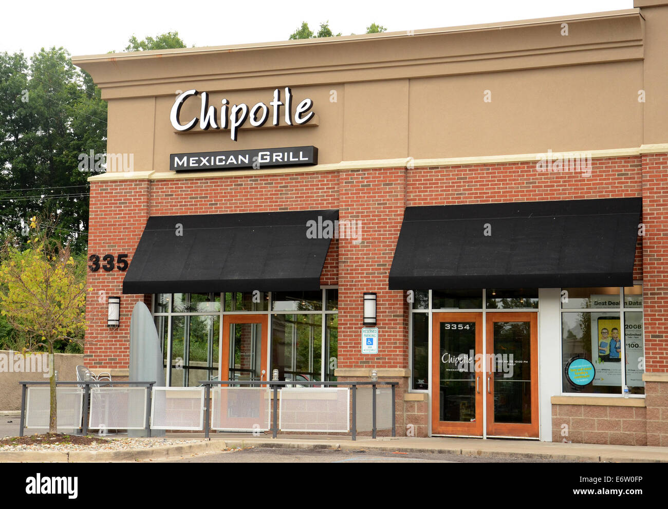 Ann Arbor Mi August 24 Chipotle Mexican Grill In Ann Arbor On