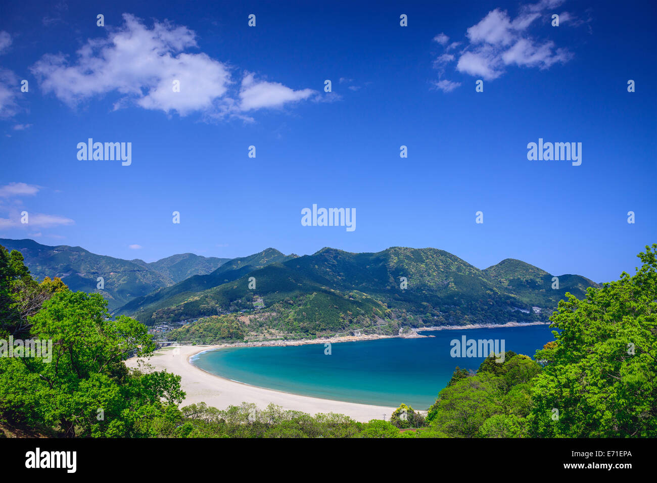 Atashika Beach in Kumano, Japan. - Stock Image