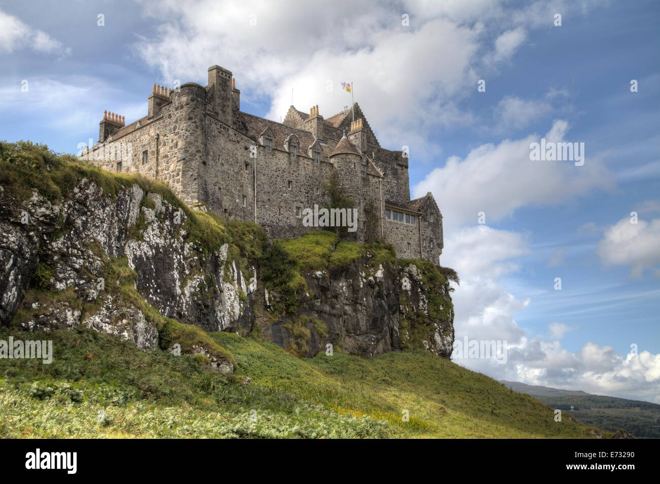 Duart Castle on the Isle of Mull, Scotland. Stock Photo