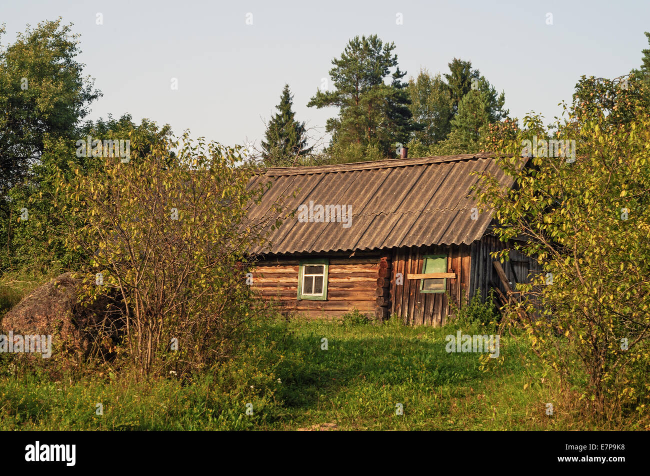 Old bath in a garden of the rural house Stock Photo: 73634604 - Alamy