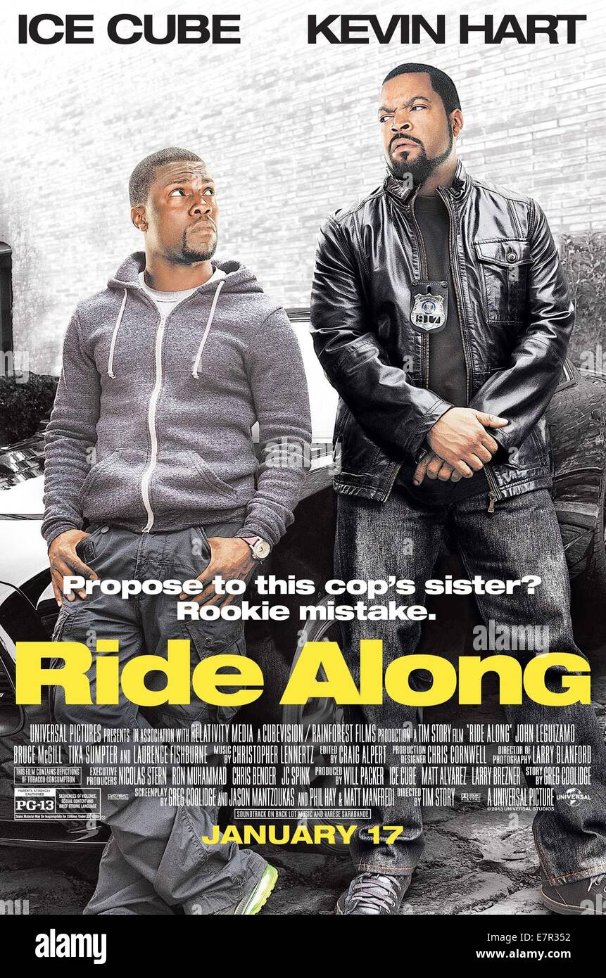 Ride Along Year 2014 Usa Director Tim Story Kevin Hart Ice Cube