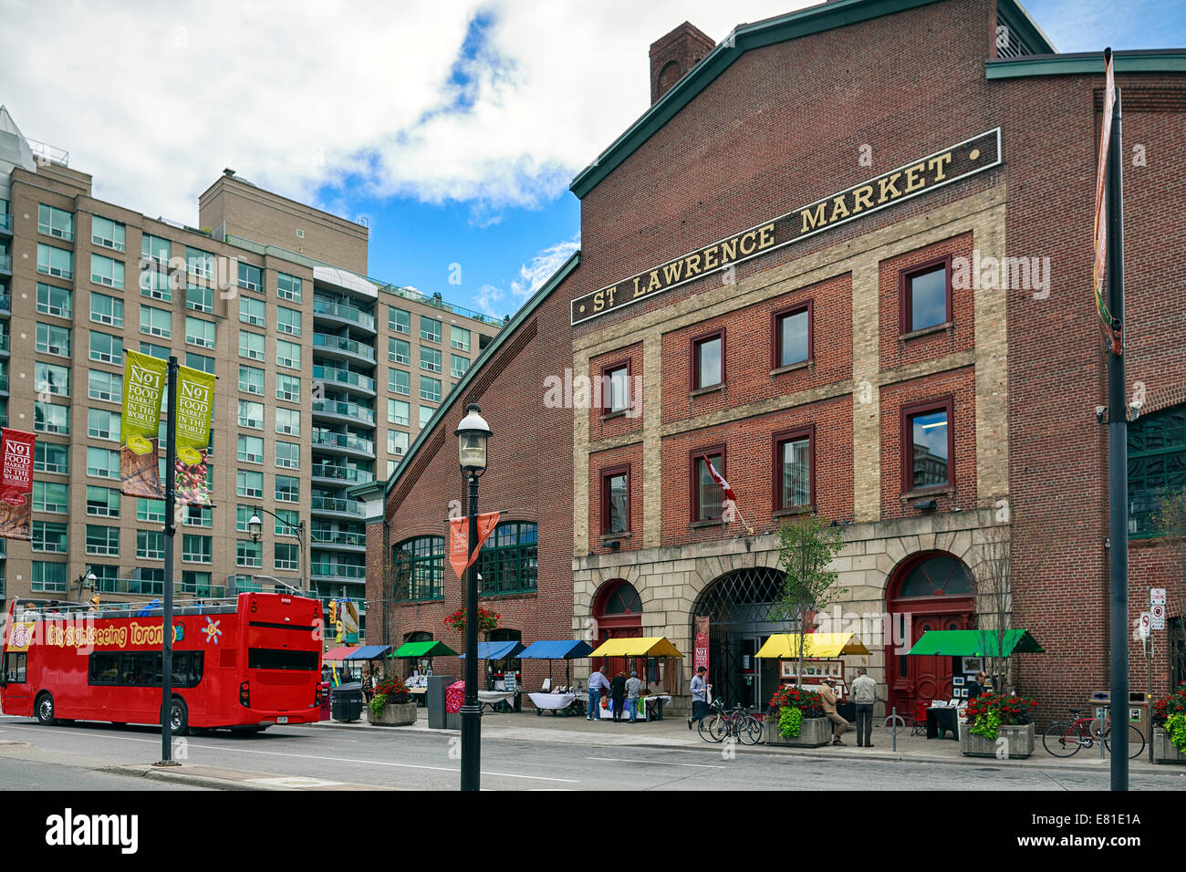 St. Lawrence Market, Toronto, Ontario, Canada - Stock Image