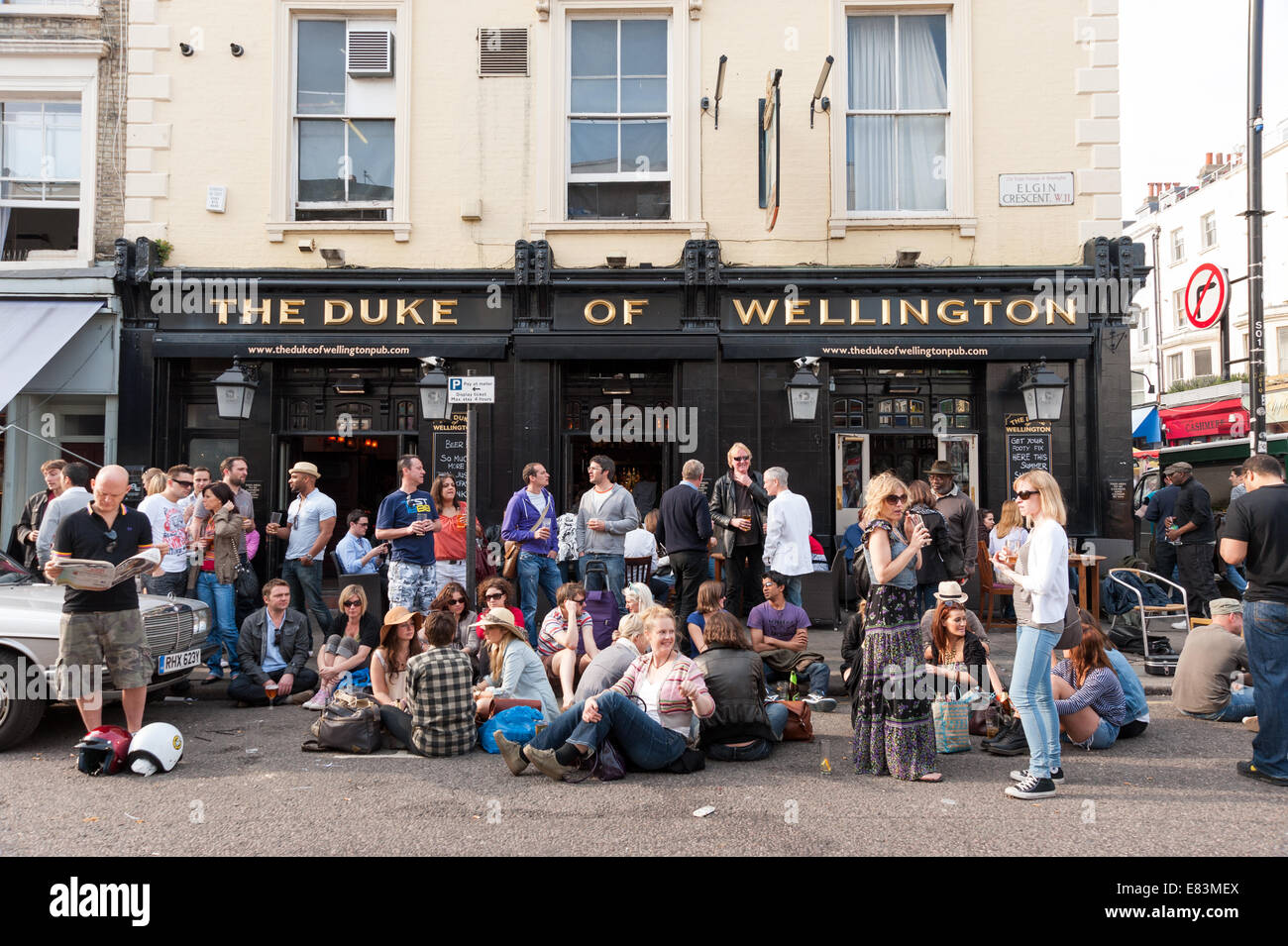 Duke of wellington pub soho