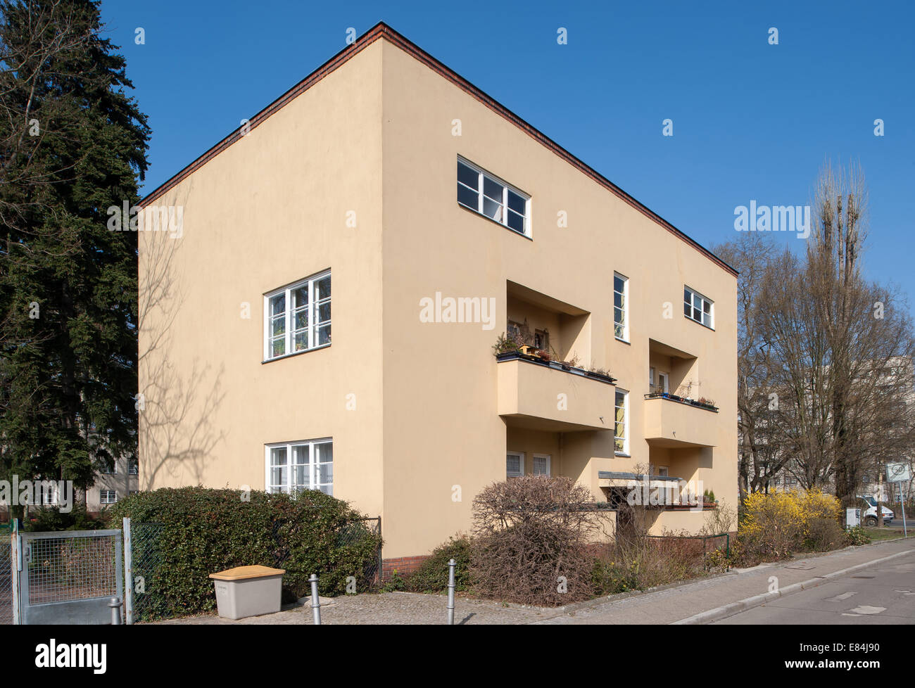 Berlin Germany Residential Building By Ludwig Mies Van Der Rohe In