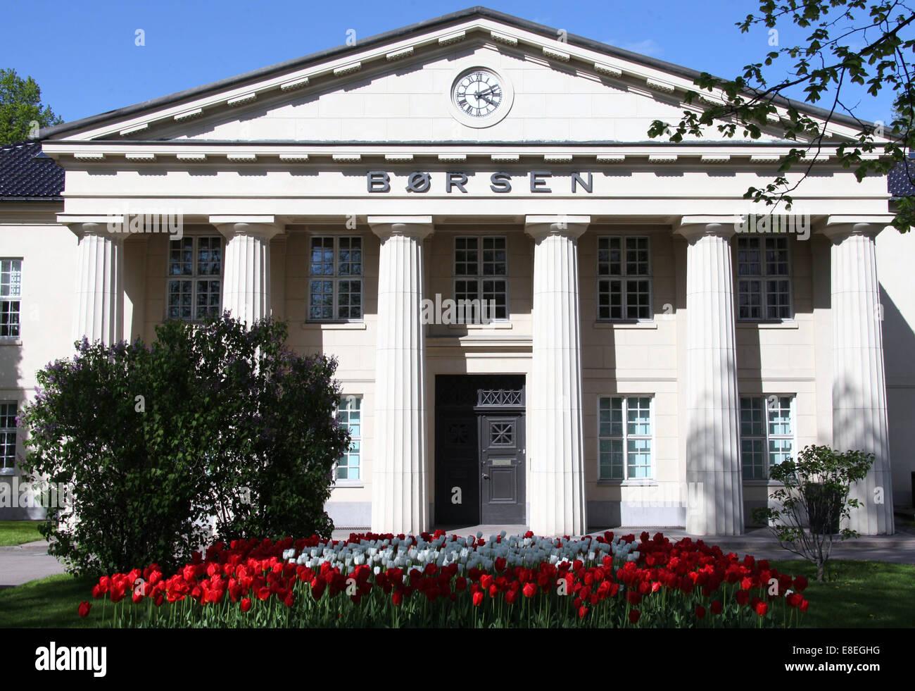 Oslo Stock Exchange - Stock Image